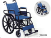 Deluxe Stainless Steel Wheelchair