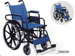 Deluxe manual Wheelchair
