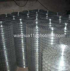 zine coated welded wire mesh