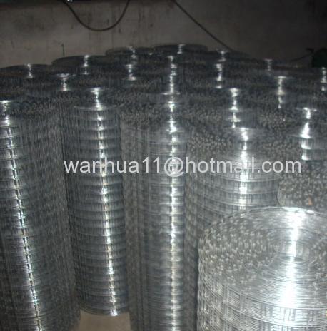 zine coated welded wire mesh