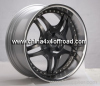 Alloy wheel forged disk for mulriple pieces