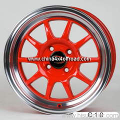 Alloy wheel fabrication