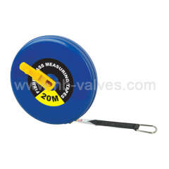 Plastic back handle measure tape