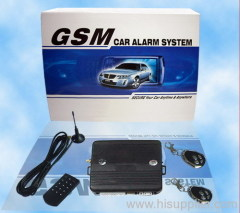 Two Way GSM Car Alarm System with Voice Instruction