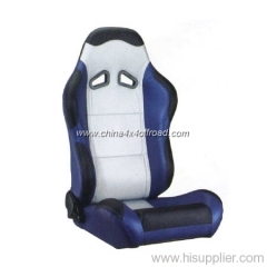 leather racing seats