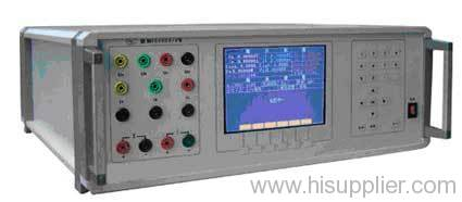 program-controlled high-precision three-phase power supply
