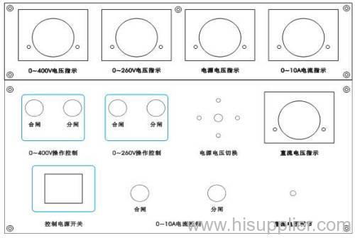 low voltage switch cabinet power test