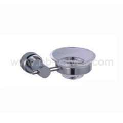 Glass dish soap holder