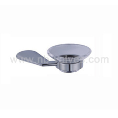 Glass soap holder