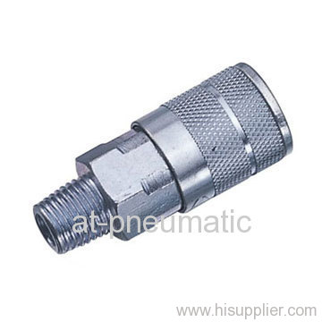 Male thread air couplers