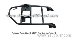 car spare tyre rack FJ80
