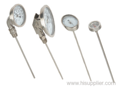 universal ss bimetal thermometer