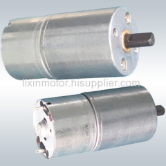 dc gear motor with dia 25mm