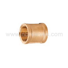 Brass female Coupling Fitting