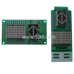 Mitsubshi elevator parts Display LHA-022AG lift parts PCB