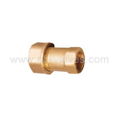 Steel block plug fitting