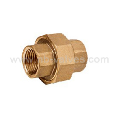 Brass female Union fitting