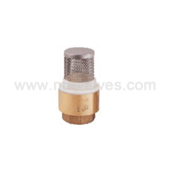Stainless steel filter check valve