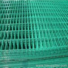 Standard PVC Coated welded wire mesh panel
