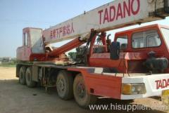 Tadano TG400E crane