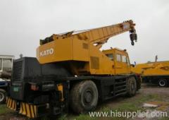 Kato 45t rough terrain crane