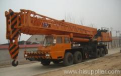 160t Tadano full hydraulic crane