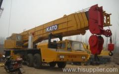 80t kato hydraulic crane