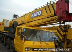 Kato hydraulic crane 50t