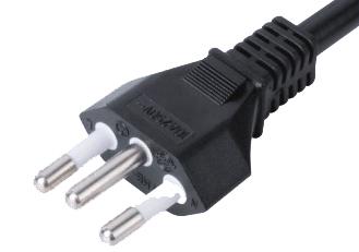 Brazil type electrical cord