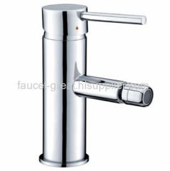 Round Lever with H58 brass bidet mixer