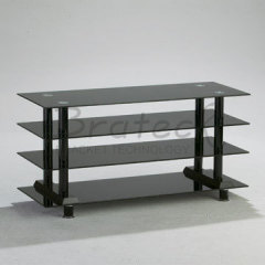 Glass video tables
