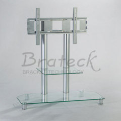 glass television rack