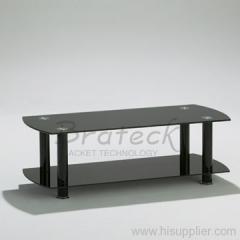 black plasma TV stand