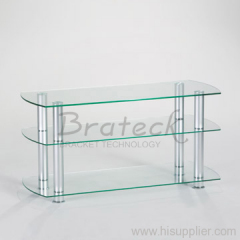 aluminum LCD TV stands