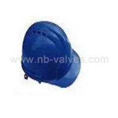 Brim safety helmet