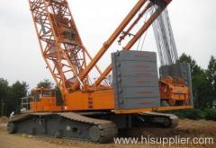 350t crawler crane