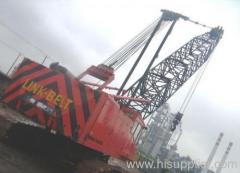 100t crawler crane