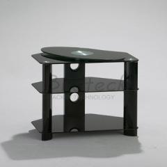Black Glass AV Racks