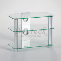 tempered glass LCD rack