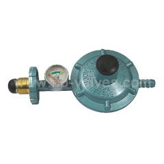 Brass pressure regulator