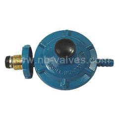 Metal gas valve