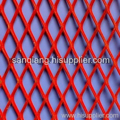 coated pvc expanded wire mesh
