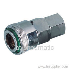 Female thread quick coupler