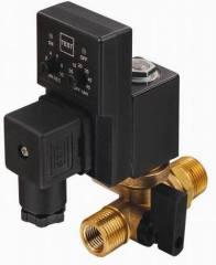 Drain type solenoid valve