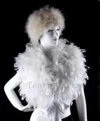 fashion turkey feather shawl