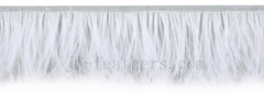 fashion ostrich feather lace