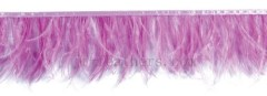 ostrich feather lace colored