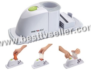 One Touch Automatic Vegetable Slicer