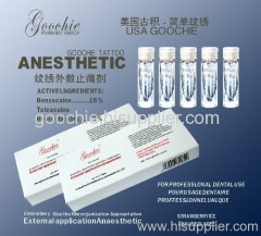 permanent makeup anesthetic