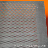 perforating metal mesh